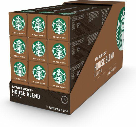 Starbucks Nespresso cups 2 x 10 cups voor 5.49 bij Plus