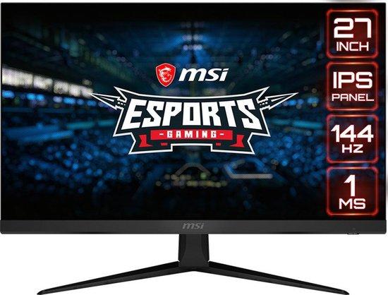 MSI Optix G271 27'' IPS monitor 144HZ 1080P