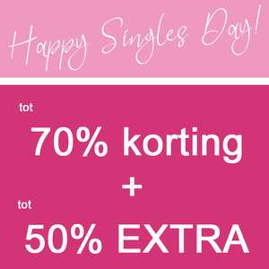 Singles Day: SALE tot -70% + tot 50% EXTRA korting @ Maison Lab