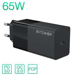 Blitzwolf BW-S17 65W oplader PD3.0 QC3.0 (EU warehouse)