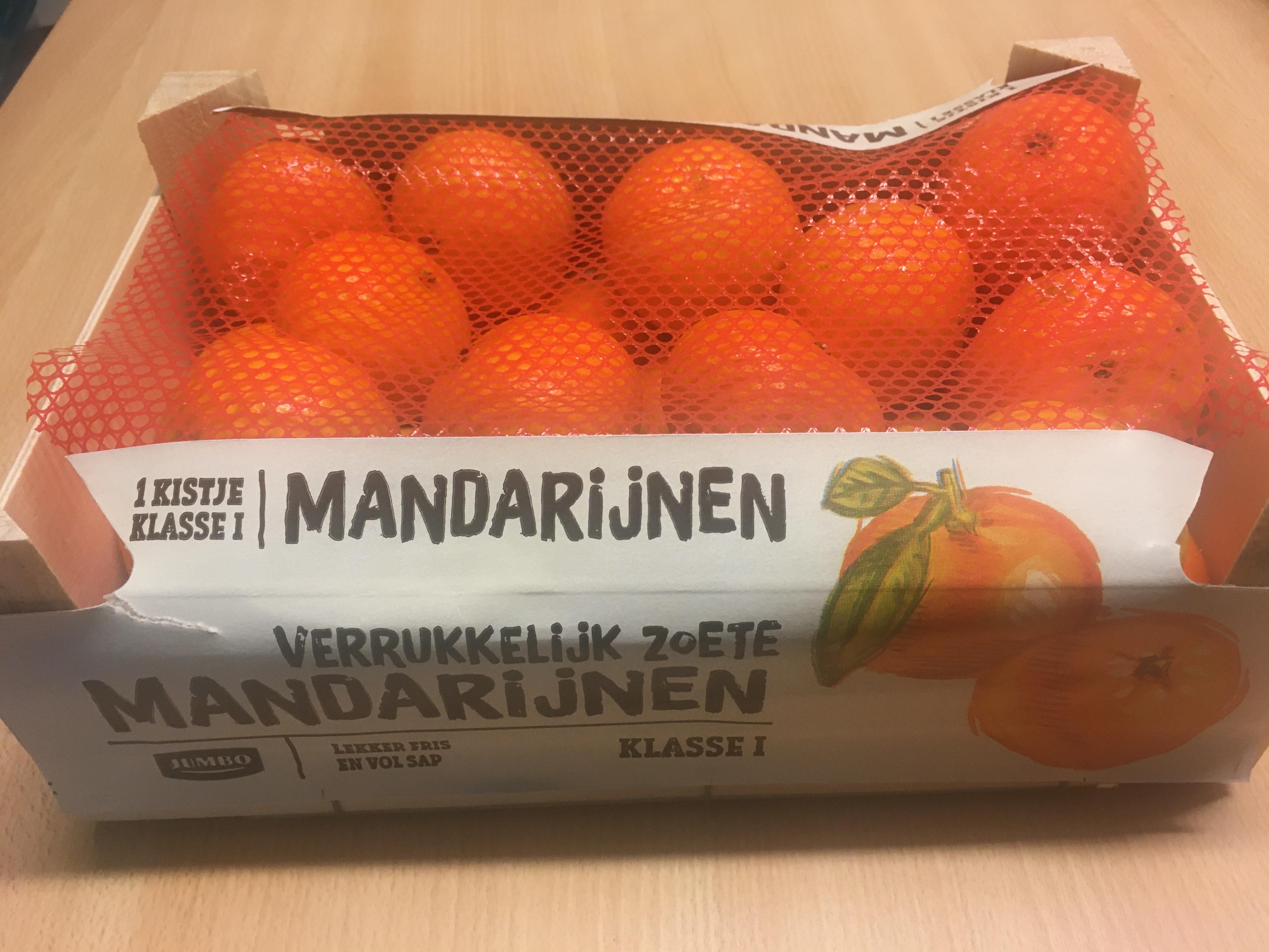 Lokaal arnhem Kistje Mandarijnen 2,3kilo €2,- @Jumbo Arnhem