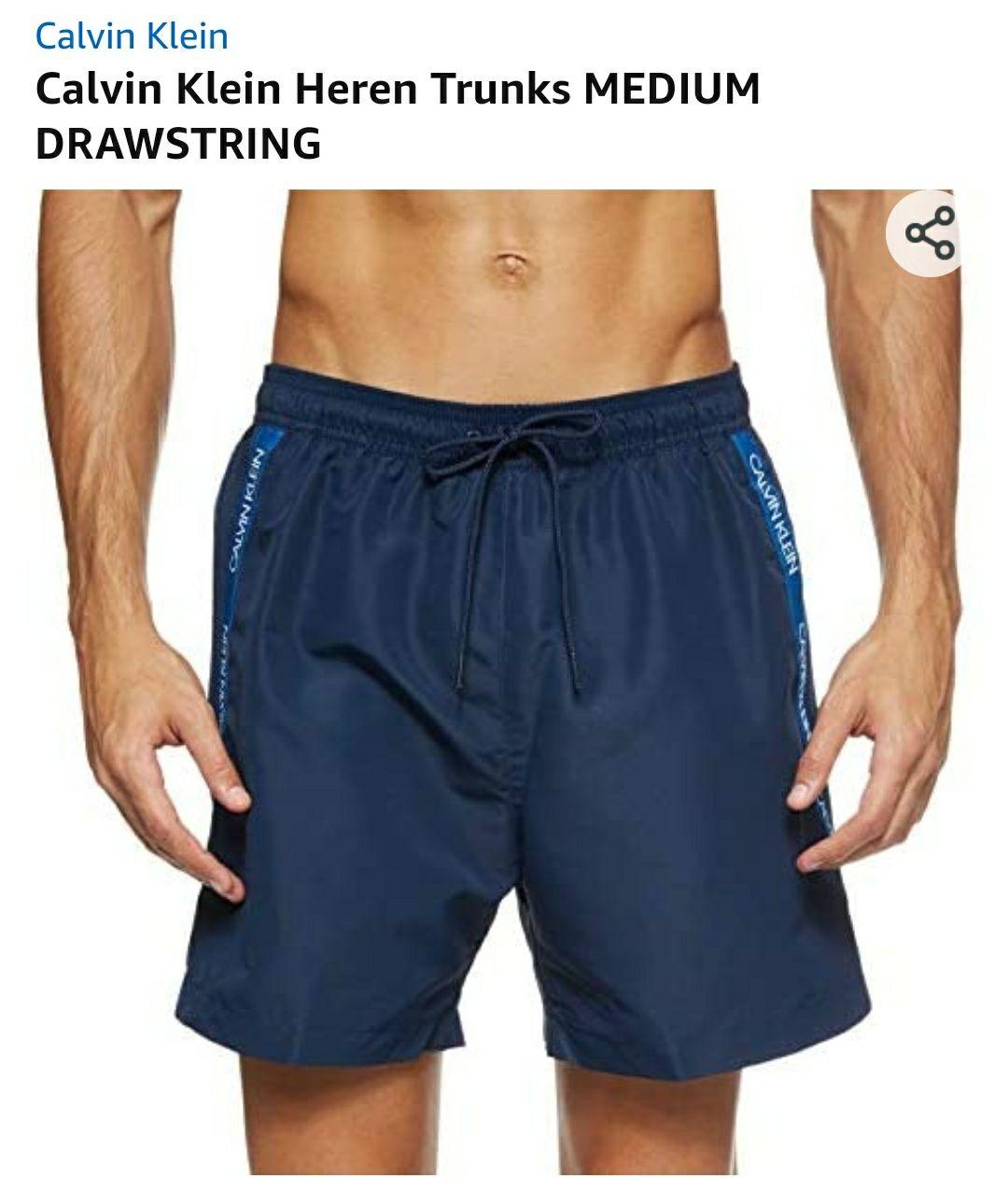 Calvin Klein zwembroek met trekkoord KM0KM00425