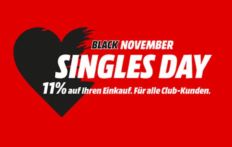 (Grensdeal) 11% Singles Day korting Mediamarkt en Saturn Duitsland op bijna alles