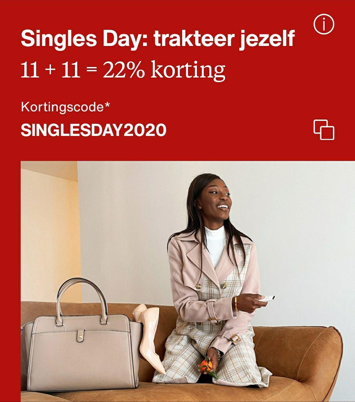 22% korting bij Zalando