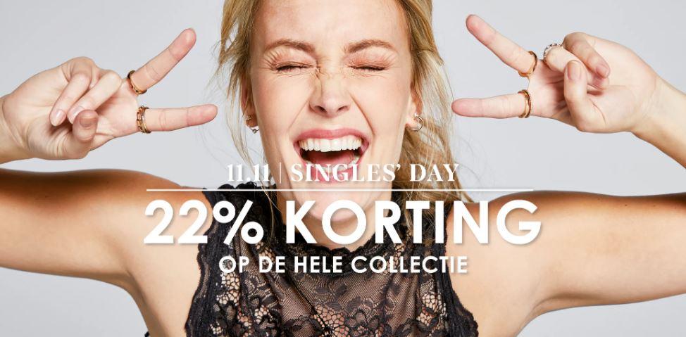 Singles Day: 22% korting - ook op SALE [tot -80%] @ Jeans Centre