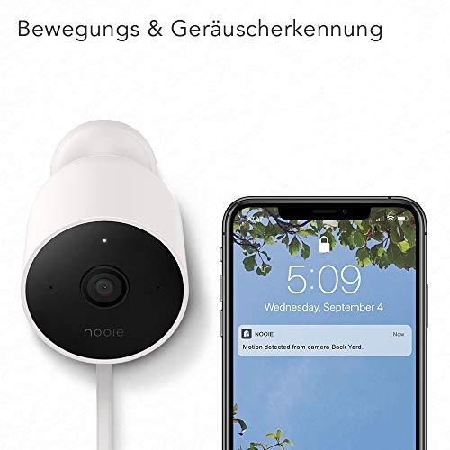 Nooie Cam Outdoor IP, 1080p HD, IP66 @ Amazon.de