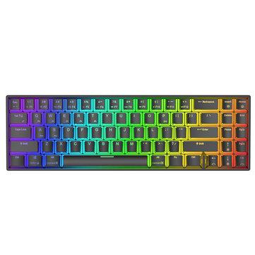 Draadloos mechanisch toetsenbord (70%) met RGB
