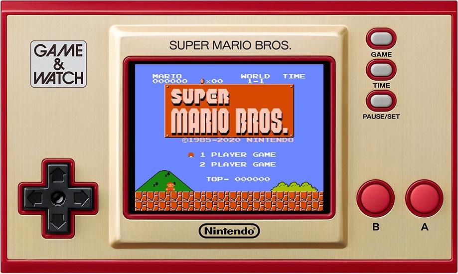 Game & Watch: Super Mario Bros. Retro spelsysteem