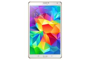 Samsung Galaxy Tab S 8.4 (LTE) (wit) voor €338,08 @ Amazon.it