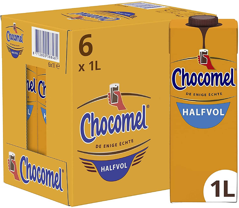 Chocomel Chocolademelk Halfvol 6 x 1 L of origineel