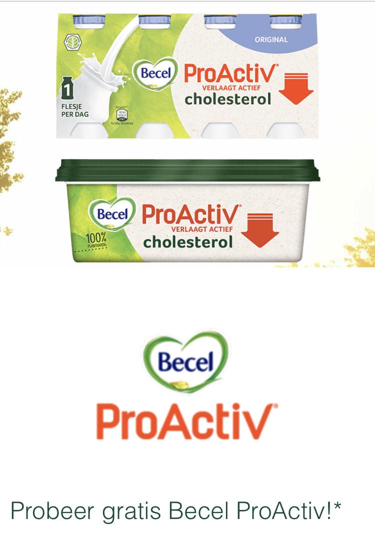 Gratis Becel ProActiv 250g of Becel ProActiv 8-pack yoghurtdrink - Scoupy