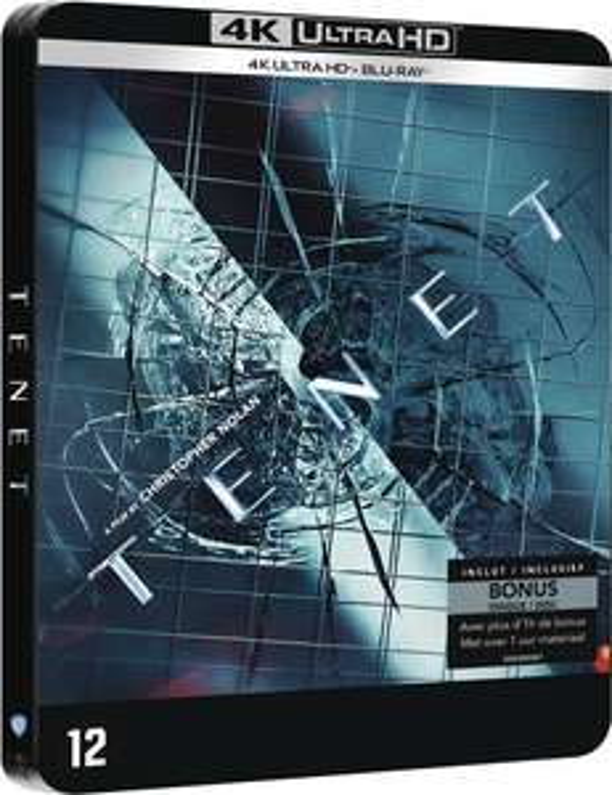 TENET 4k Limited Edition Steelbook Pre-order