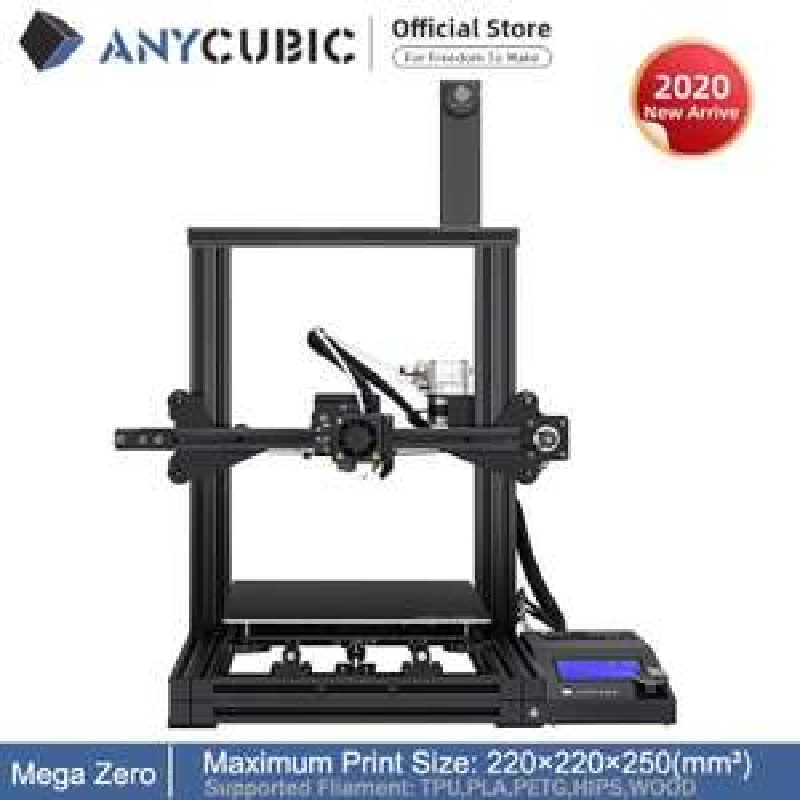 Anycubic Mega Zero 3D-printer bij AliExpress.