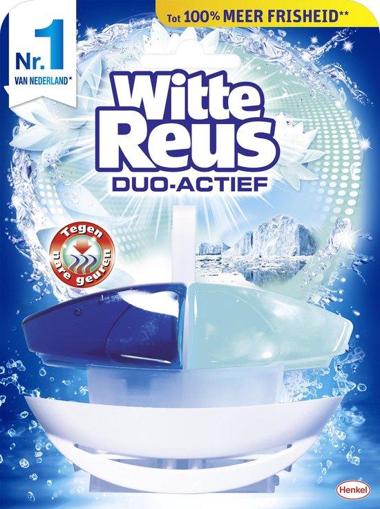 8x Witte Reus Duo Actief Tegen Nare Geuren toiletblok voor €1,29 @ Bol.com