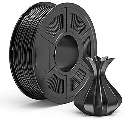 Tecbears PLA zwart 1,75mm +-0,02mm 1kg @Amazon.de
