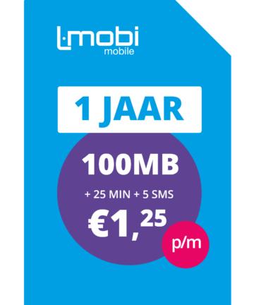 20% korting op Lmobi Mobile jaarbundels (Prepaid op KPN netwerk)