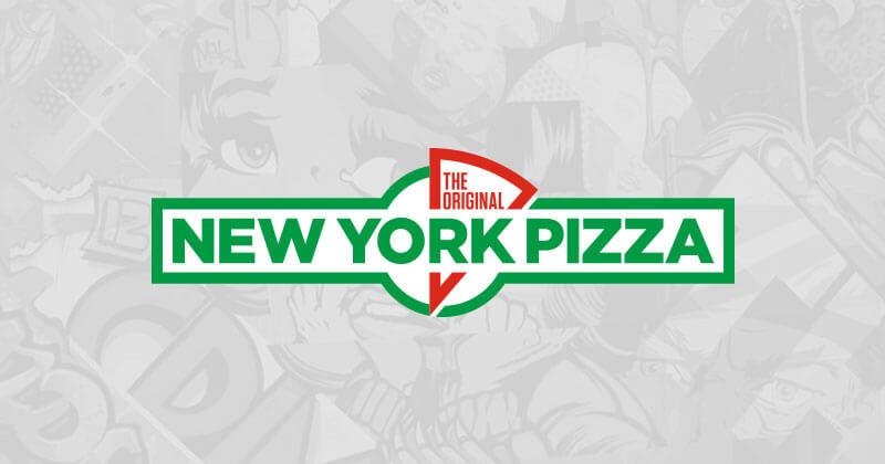 2e pizza gratis @New York Pizza
