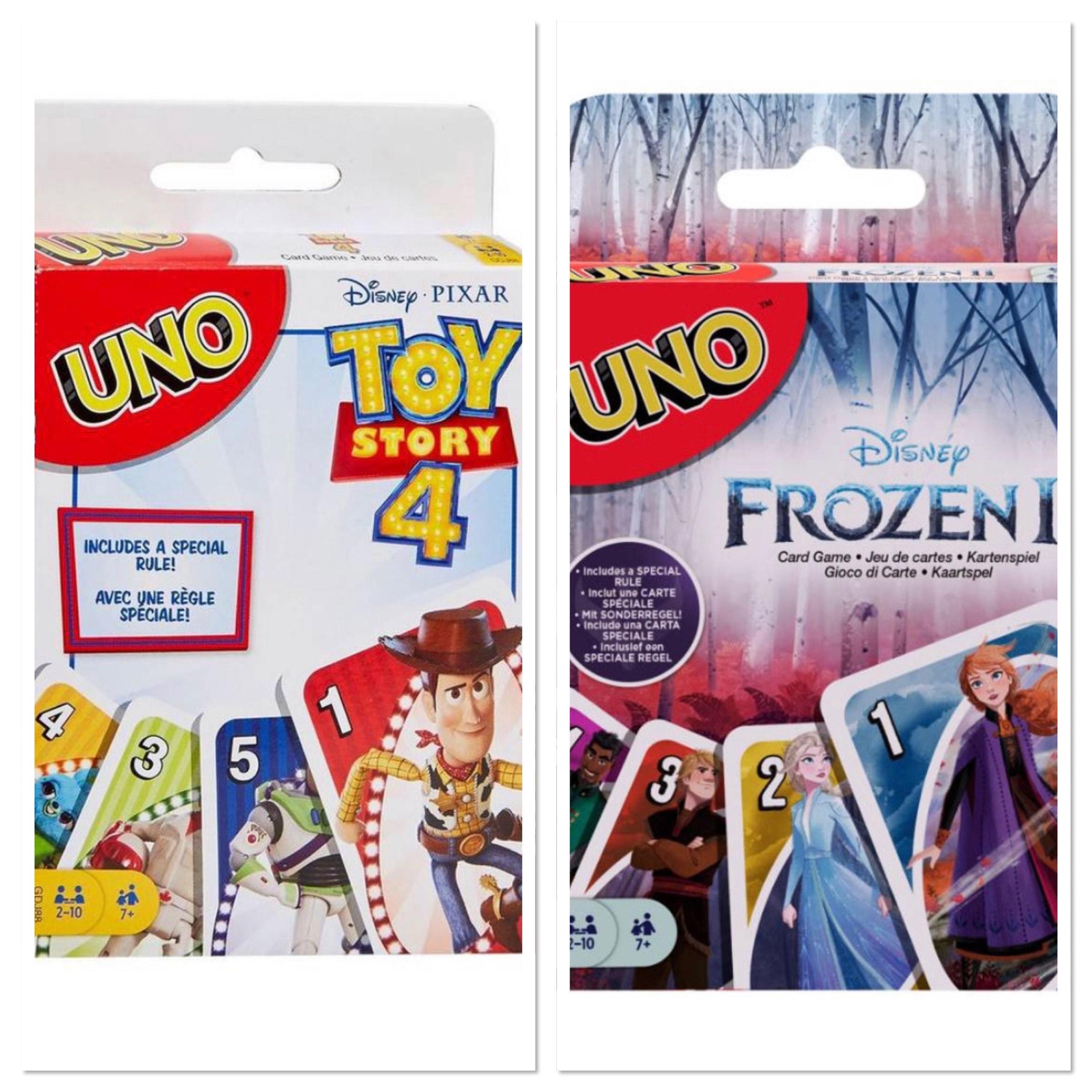 Uno Toy story 4 en uno Frozen 2 (per stuk)