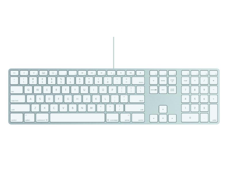 APPLE Keyboard met Numeriek Toetsenblok €37,95 @ Mediamarkt/EP