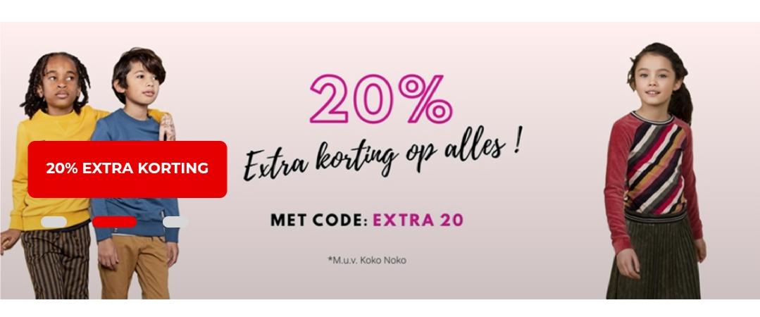 20% korting op alles bij Jayno.nl | kinder- en babykleding