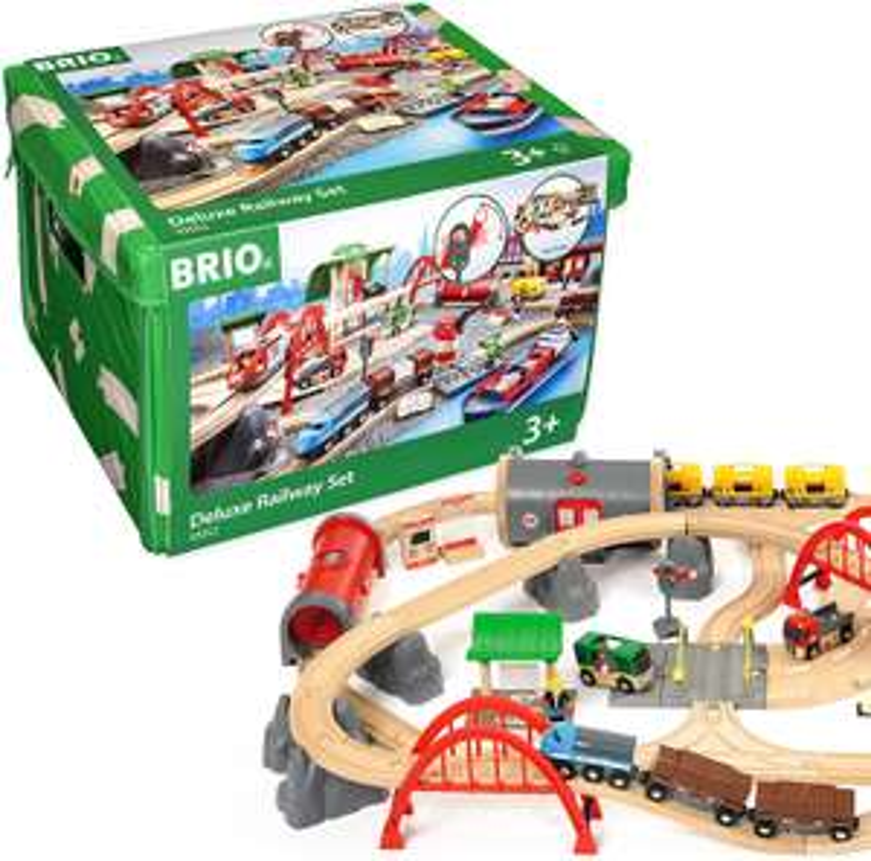 BRIO Straten & Rails Treinset Deluxe, 33052 (@Amazon.nl)
