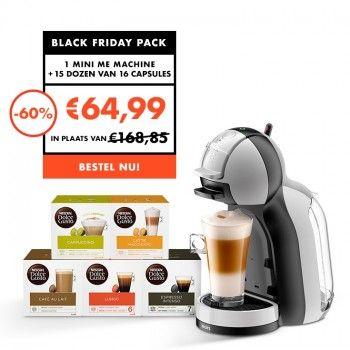 [België] Dolce Gusto Black Friday | Mini Me + 15 dozen koffie