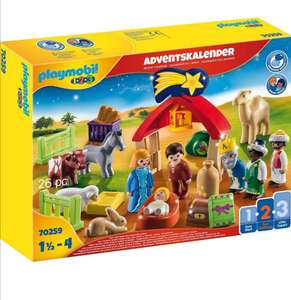 Playmobil 123 adventskalender kerststal