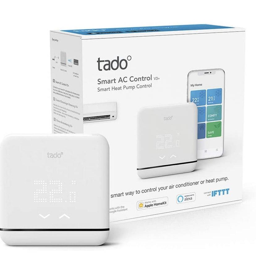 Tado V3+ aircobediening