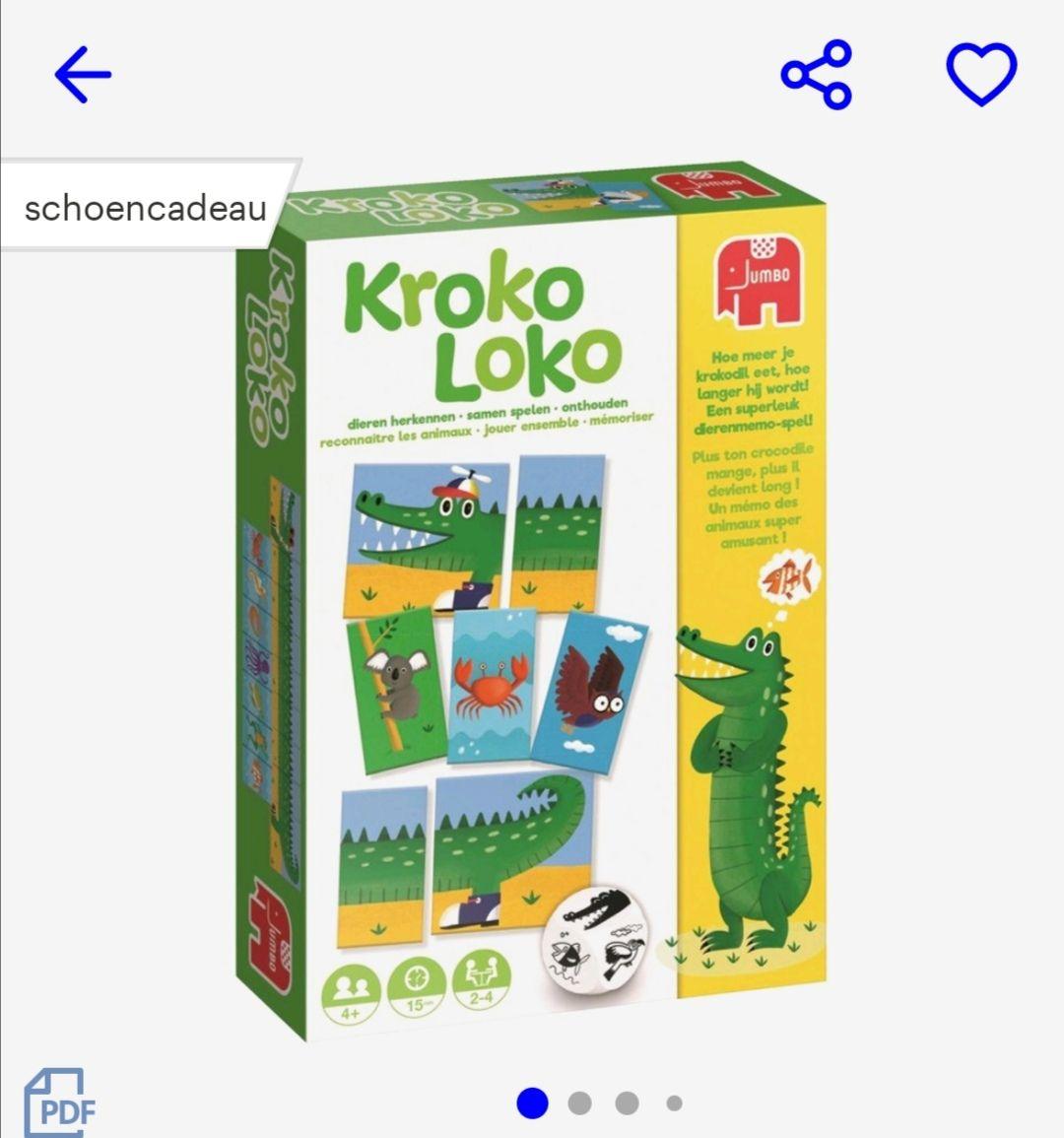 Kroko Loko (Schoencadeau of kerst) @bol.com