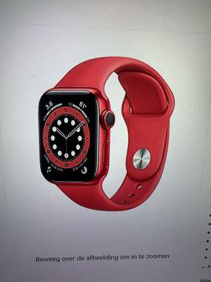 Apple Watch Series 6 (40mm,GPS) Product(Red)