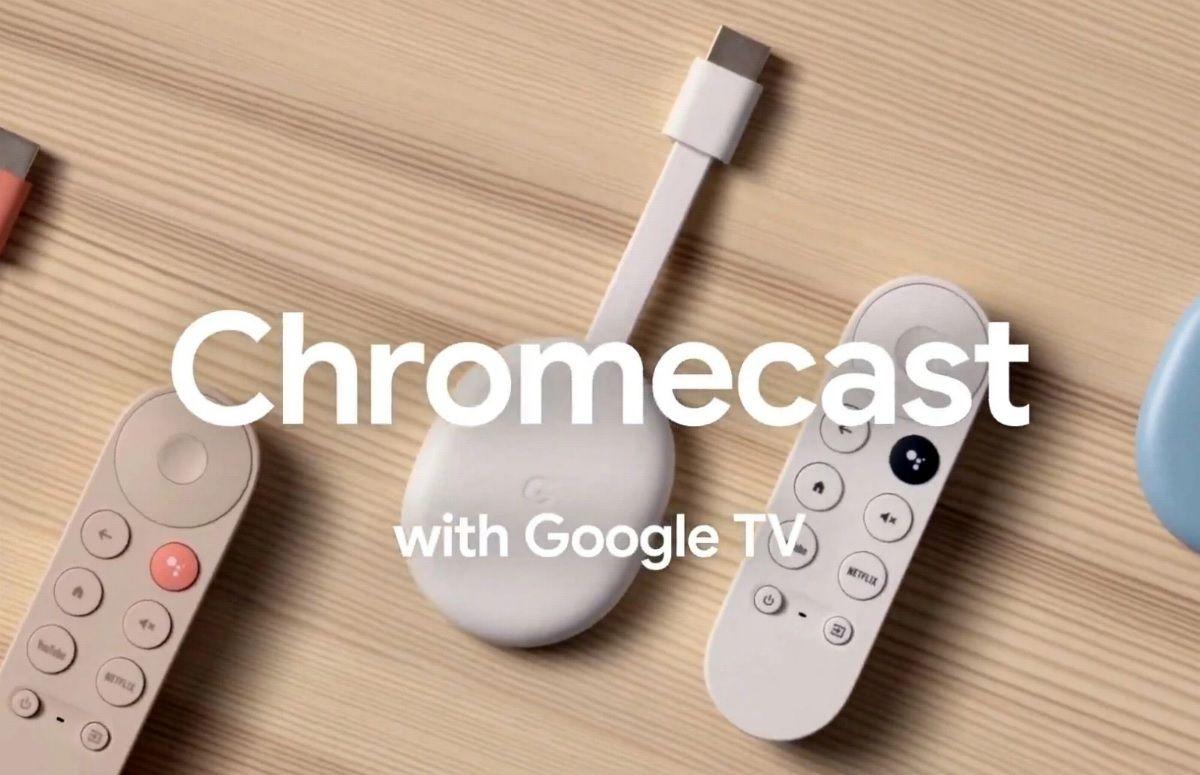 Google Chromecast met Google TV