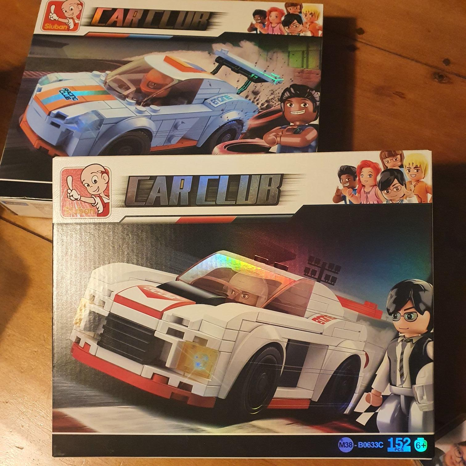 Dirk sluban car club setjes (fake lego)