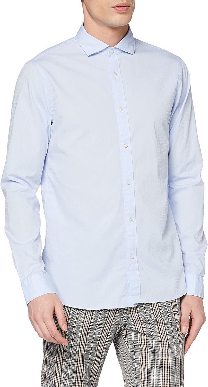 Scotch & Soda overhemd Regular-fit Chic dobby shirt