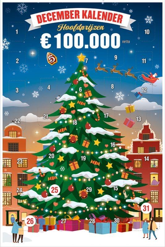 Korting op December kalender bij Kruidvat met punten
