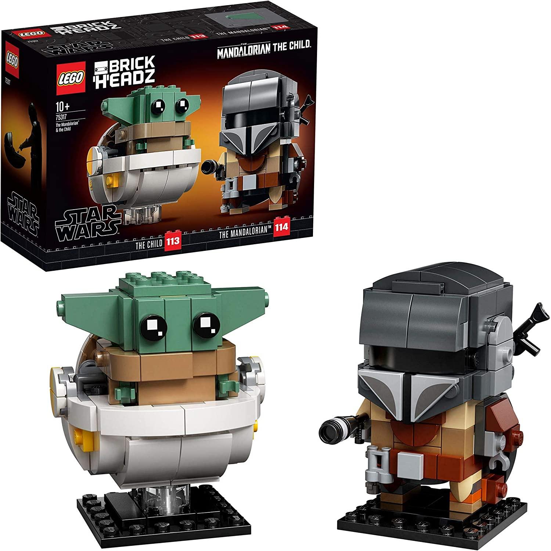 LEGO® BrickHeadz™ Star Wars™ De Mandalorian™ en het Kind