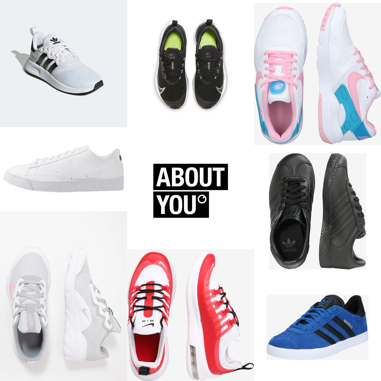 Veel sneakers met hele hoge korting [tm maat 40] @ About You