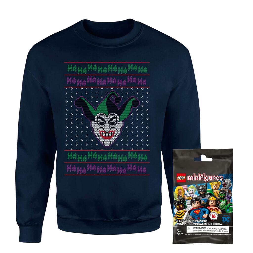 [Nu €18,99] The Joker kersttrui + Lego Minifig Bundel voor €22,99 inc. verzending @ Zavvi