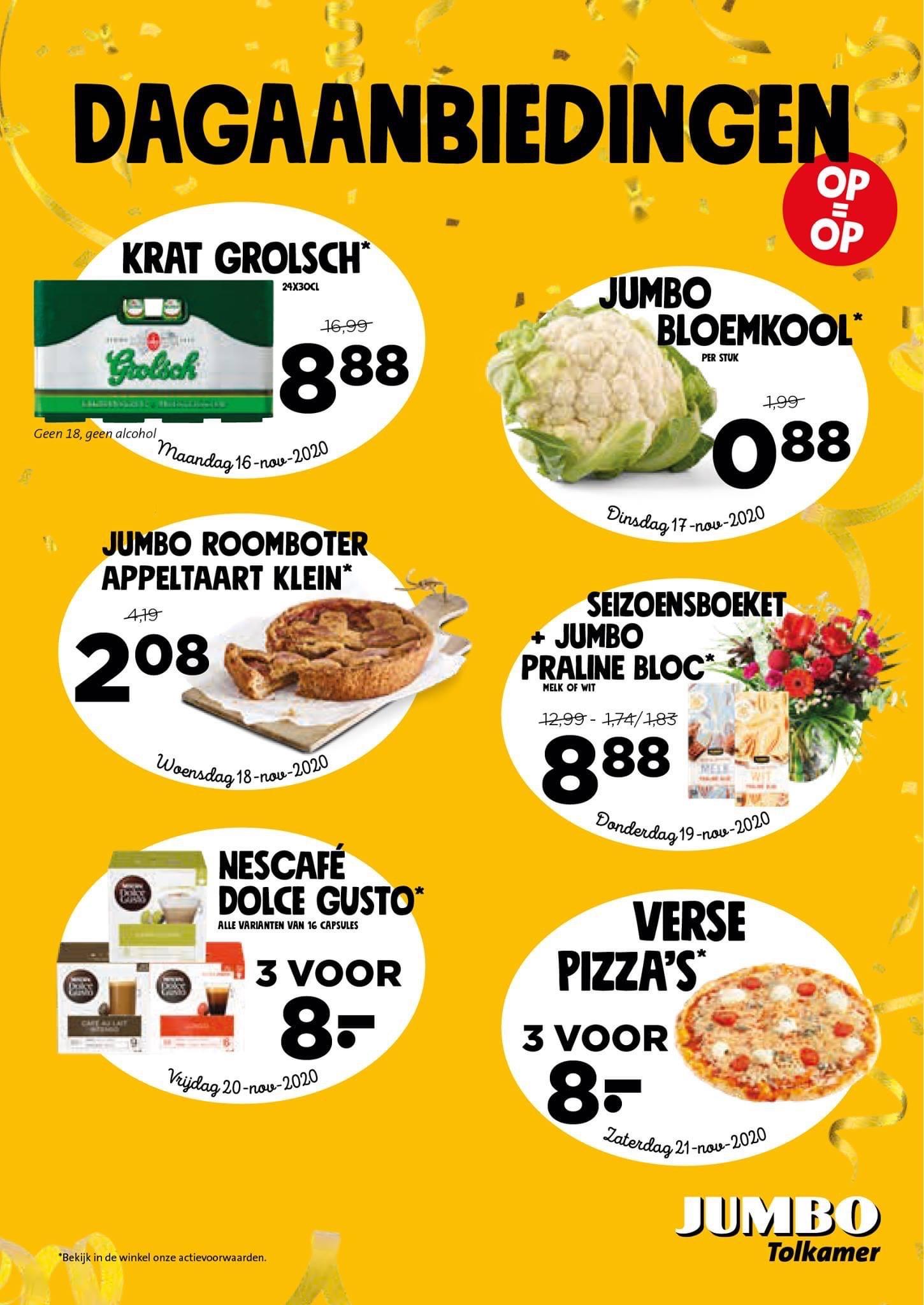 LOKAAL Dolce Gusto 3 voor 8 Euro