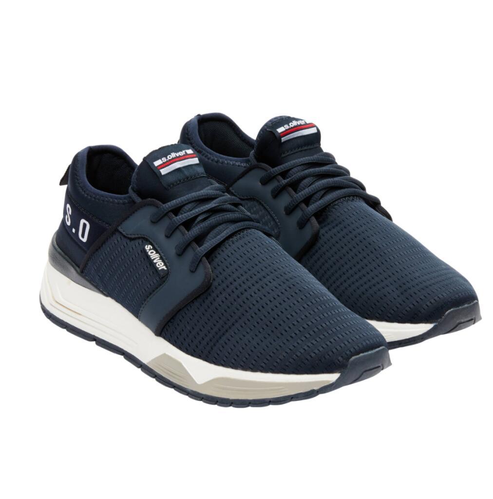 s.Oliver heren sneakers navy voor €13,98 @ Amazon.nl