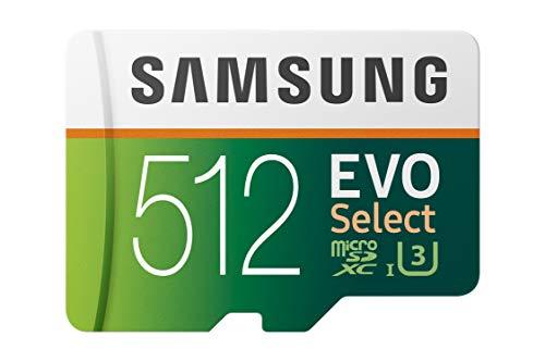512GB micro SD Samsung evo select (zelfde specs als de plus)