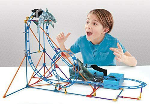K'Nex 34041 bouw- en constructiespeelgoed set Shark Coaster