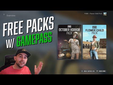 PUBG - Flower Child Pack en Horror Pack gratis voor Game Pass Ultimate members