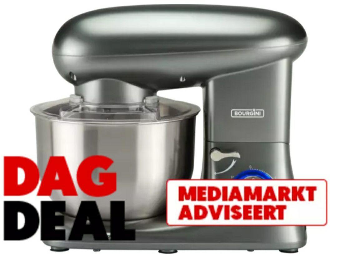 BOURGINI Kitchen Chef Plus/Pro Zilver dagdeal mediamarkt.
