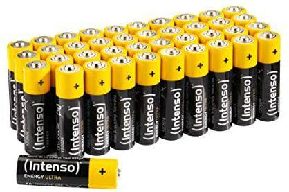 Intenso AA/AAA Batterijen 40 stuks