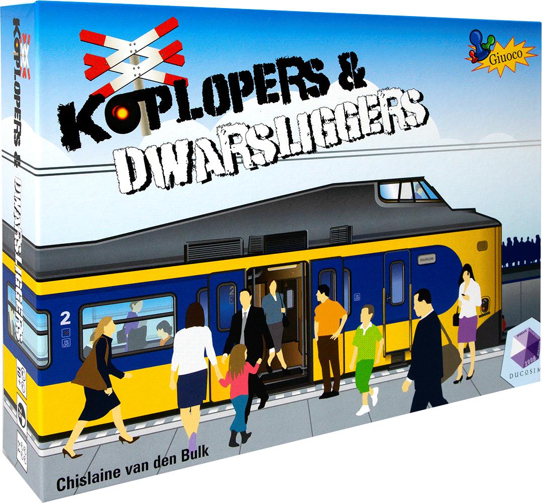Koplopers & Dwarsliggers bordspel @boekenvoordeel