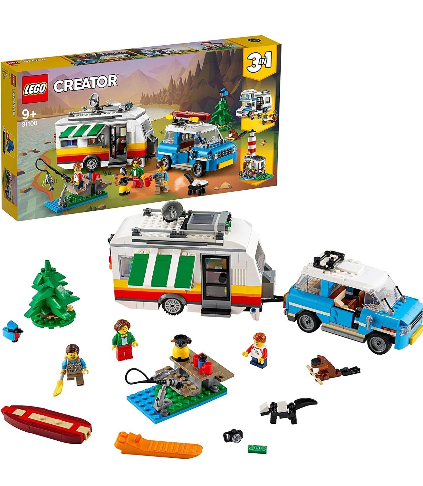 LEGO Familievakantie met caravan (31108)