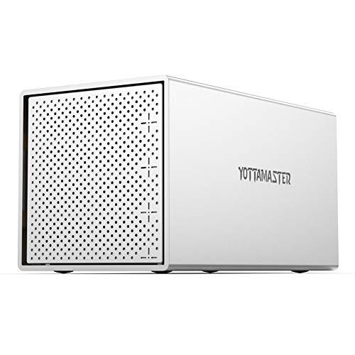 Yottamaster 4-Bay RAID aluminium behuizing
