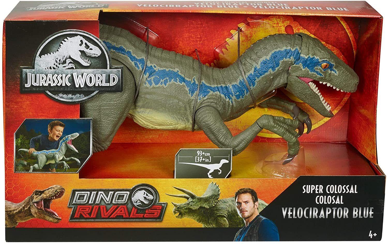 Mattel GCT93 Jurassic World Kolossale Blue