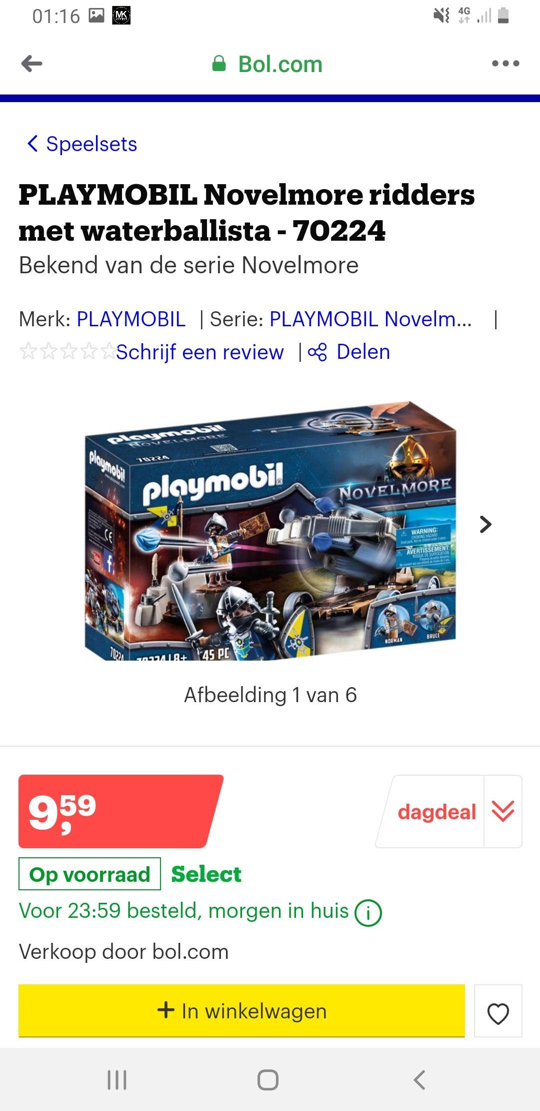 Playmobil 70224 (laagste prijs ooit)