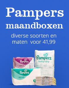 Veel Pampers maandboxen voor €41,99 @ Bol.com